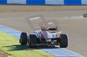 © 2012 Octane Photographic Ltd. Jerez Winter Test Day 2 - Wednesday 8th February 2012. Toro Rosso STR7 - Daniel Ricciardo. Digital Ref : 0218lw1d5545