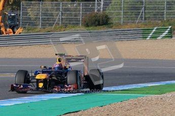 © 2012 Octane Photographic Ltd. Jerez Winter Test Day 2 - Wednesday 8th February 2012. Toro Rosso STR7 - Daniel Ricciardo. Digital Ref :  0218lw1d5870