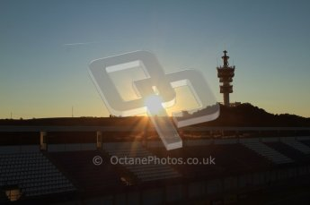 © 2012 Octane Photographic Ltd. Jerez Winter Test Day 2 - Wednesday 8th February 2012. Atmosphere. Digital Ref : 0218lw7d3454