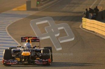 © 2012 Octane Photographic Ltd. Jerez Winter Test Day 3 - Thursday 9th February 2012. Red Bull RB8 - Sebastian Vettel. Digital Ref : 0219lw1d6337
