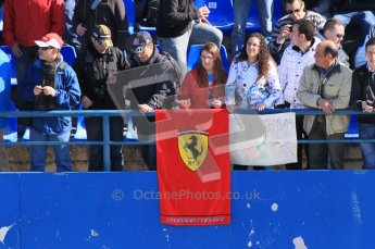 © 2012 Octane Photographic Ltd. Jerez Winter Test Day 3 - Thursday 9th February 2012. Crowds - The Tifossi. Digital Ref : 0219lw1d7649