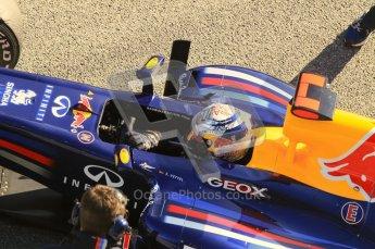 © 2012 Octane Photographic Ltd. Jerez Winter Test Day 3 - Thursday 9th February 2012. Red Bull RB8 - Sebastian Vettel. Digital Ref : 0219lw1d7673