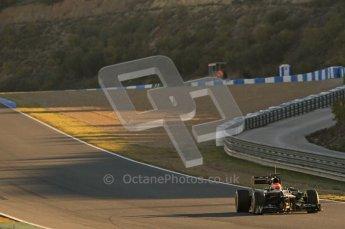 © 2012 Octane Photographic Ltd. Jerez Winter Test Day 4 - Friday 10th February 2012. Caterham CT01 - Jarno Trulli. Digital Ref :  0221lw1d8161