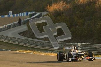 © 2012 Octane Photographic Ltd. Jerez Winter Test Day 4 - Friday 10th February 2012. Sauber C31 - Kamui Kobayashi. Digital Ref : 0221lw1d8219
