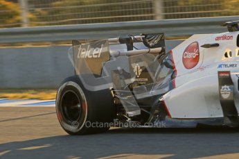 © 2012 Octane Photographic Ltd. Jerez Winter Test Day 4 - Friday 10th February 2012. Sauber C31 - Kamui Kobayashi. Digital Ref : 0221lw1d8251