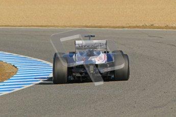 © 2012 Octane Photographic Ltd. Jerez Winter Test Day 4 - Friday 10th February 2012. Williams FW34 - Bruno Senna. Digital Ref : 0221lw1d9270