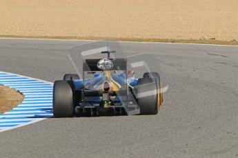 © 2012 Octane Photographic Ltd. Jerez Winter Test Day 4 - Friday 10th February 2012. Caterham CT01 - Jarno Trulli. Digital Ref : 0221lw1d9286
