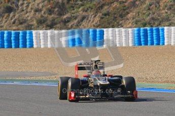 © 2012 Octane Photographic Ltd. Jerez Winter Test Day 4 - Friday 10th February 2012. Toro Rosso STR7 - Jean-Eric Vergne. Digital Ref : 0221lw1d9332