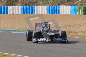 © 2012 Octane Photographic Ltd. Jerez Winter Test Day 4 - Friday 10th February 2012. Williams FW34 - Bruno Senna. Digital Ref : 0221lw1d9354
