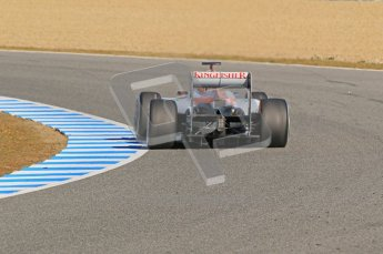 © 2012 Octane Photographic Ltd. Jerez Winter Test Day 4 - Friday 10th February 2012. Force India VJM05 - Nico Hulkenberg. Digital Ref : 0221lw1d9420