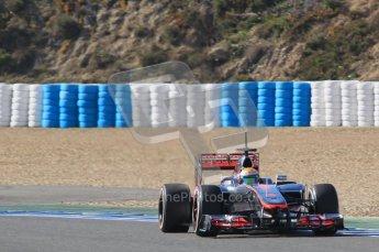 © 2012 Octane Photographic Ltd. Jerez Winter Test Day 4 - Friday 10th February 2012. McLaren MP4/27 - Lewis Hamilton. Digital Ref : 0221lw1d9566