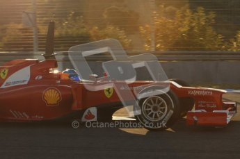 © 2012 Octane Photographic Ltd. Jerez Winter Test Day 4 - Friday 10th February 2012. Ferrari F2012 - Fernando Alonso. Digital Ref : 0221lw7d4108