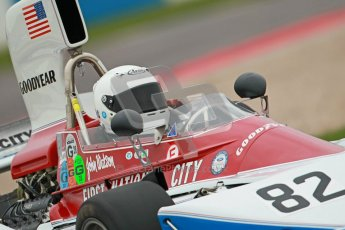 © Octane Photographic Ltd. Masters Racing – Pre-season testing – Donington Park, 5th April 2012. Single-seater classes, Historic F1. Digital Ref : 0271cb1d0764