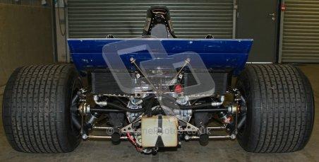 © Octane Photographic Ltd. Masters Racing – Pre-season testing – Donington Park, 5th April 2012. Single-seater classes, Tyrrell , Historic F1. Digital Ref : 0271cb7d6415