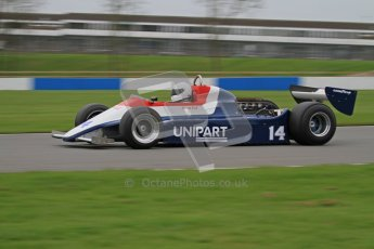© Octane Photographic Ltd. Masters Racing – Pre-season testing – Donington Park, 5th April 2012. Single-seater classes, Historic F1. Digital Ref : 0272lw7d0500