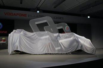 © 2012 Octane Photographic Ltd. Vodafone McLaren Mercedes Technical Car Launch MP4/27  Digital Ref : 0216lw1d2155