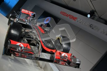 © 2012 Octane Photographic Ltd. Vodafone McLaren Mercedes Technical Car Launch MP4/27  Digital Ref : 0216lw1d2220