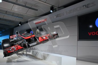 © 2012 Octane Photographic Ltd. Vodafone McLaren Mercedes Technical Car Launch MP4/27 Digital Ref : 0216lw1d2228
