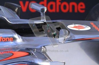 © 2012 Octane Photographic Ltd. Vodafone McLaren Mercedes Technical Car Launch MP4/27  Digital Ref : 0216lw7d1261