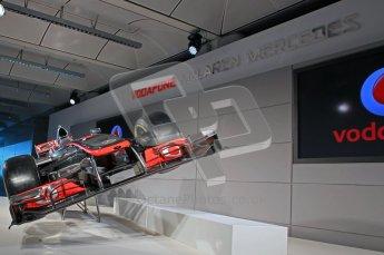 © 2012 Octane Photographic Ltd. Vodafone McLaren Mercedes Technical Car Launch MP4/27  Digital Ref : 0216lw7d2227
