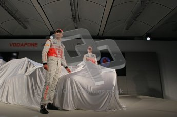 © 2012 Octane Photographic Ltd. Vodafone McLaren Mercedes Technical Car Launch MP4/27  Digital Ref : 0216lw7d2448