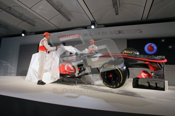 © 2012 Octane Photographic Ltd. Vodafone McLaren Mercedes Technical Car Launch MP4/27  Digital Ref : 0216lw7d2513