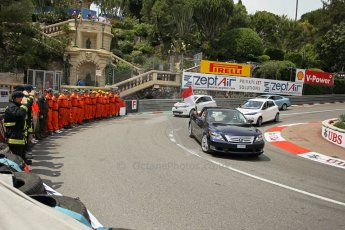 © Octane Photographic Ltd. 2012. F1 Monte Carlo - Race. Sunday 27th May 2012. The Royal track tour by Princess Charlene. Digital Ref : 0357cb1d7643