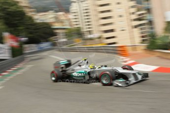 © Octane Photographic Ltd. 2012. F1 Monte Carlo - Race. Sunday 27th May 2012. Nico Rosberg - Mercedes. Digital Ref : 0357cb1d7699