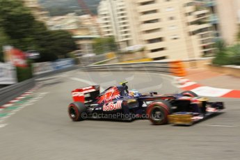 © Octane Photographic Ltd. 2012. F1 Monte Carlo - Race. Sunday 27th May 2012. Jean-Eric Vergne - Toro Rosso. Digital Ref : 0357cb1d7707