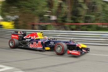 © Octane Photographic Ltd. 2012. F1 Monte Carlo - Race. Sunday 27th May 2012. Mark Webber - Red Bull. Digital Ref : 0357cb1d7839