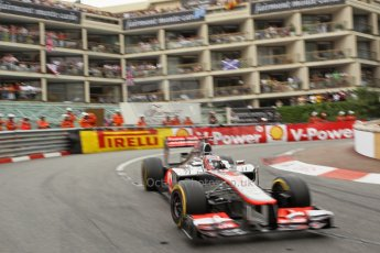© Octane Photographic Ltd. 2012. F1 Monte Carlo - Race. Sunday 27th May 2012. Jenson Button - McLaren. Digital Ref : 0357cb1d7923