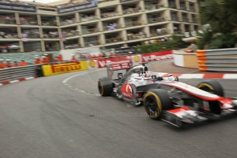 © Octane Photographic Ltd. 2012. F1 Monte Carlo - Race. Sunday 27th May 2012. Jenson Button - McLaren. Digital Ref : 0357cb1d7961