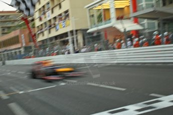 © Octane Photographic Ltd. 2012. F1 Monte Carlo - Race. Sunday 27th May 2012. Mark Webber - Red Bull. Digital Ref : 0357cb1d8026