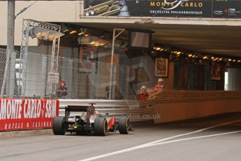 © Octane Photographic Ltd. 2012. F1 Monte Carlo - Race. Sunday 27th May 2012. Jenson Button enters the tunnel - McLaren. Digital Ref : 0357cb7d0062