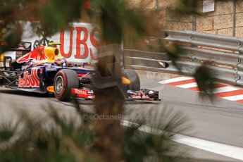 © Octane Photographic Ltd. 2012. F1 Monte Carlo - Race. Sunday 27th May 2012. Mark Webber - Red Bull. Digital Ref : 0357cb7d0103