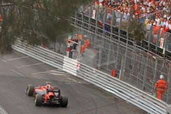 © Octane Photographic Ltd. 2012. F1 Monte Carlo - Race. Sunday 27th May 2012. Charles Pic - Marussia. Digital Ref : 0357cb7d0471