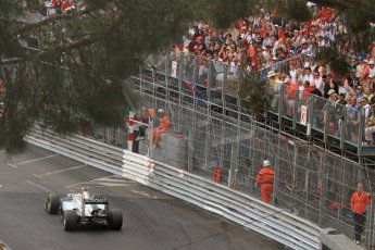 © Octane Photographic Ltd. 2012. F1 Monte Carlo - Race. Sunday 27th May 2012. Nico Rosberg - Mercedes. Digital Ref : 0357cb7d0479