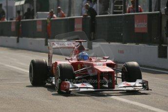 © 2012 Octane Photographic Ltd. Italian GP Monza - Saturday 8th September 2012 - F1 Qualifying. Ferrari F2012 - Fernando Alonso. Digital Ref :