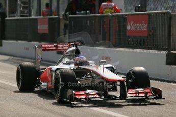 © 2012 Octane Photographic Ltd. Italian GP Monza - Saturday 8th September 2012 - F1 Qualifying. McLaren MP4/27 - Jenson Button. Digital Ref : 0513lw1d1922