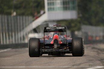 © 2012 Octane Photographic Ltd. Italian GP Monza - Saturday 8th September 2012 - F1 Qualifying. Marussia MR01 - Timo Glock. Digital Ref :