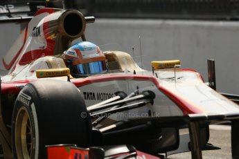 © 2012 Octane Photographic Ltd. Italian GP Monza - Saturday 8th September 2012 - F1 Qualifying. HRT F112 - Narain Karthikeyan. Digital Ref :