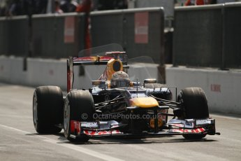 © 2012 Octane Photographic Ltd. Italian GP Monza - Saturday 8th September 2012 - F1 Qualifying. Red Bull RB8 - Sebastian Vettel. Digital Ref :