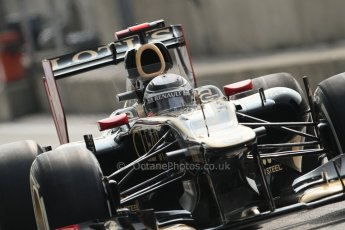 © 2012 Octane Photographic Ltd. Italian GP Monza - Saturday 8th September 2012 - F1 Qualifying. Lotus E20 - Kimi Raikkonen. Digital Ref :