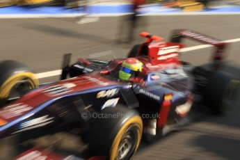 © 2012 Octane Photographic Ltd. Italian GP Monza - Friday 7th September 2012 - GP2 Qualifying - Venezuela GP Lazarus - Sergio Canamasas. Digital Ref : 0508cb7d2352