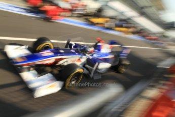 © 2012 Octane Photographic Ltd. Italian GP Monza - Friday 7th September 2012 - GP2 Qualifying - Trident Racing - Stephane Richelmi. Digital Ref : 0508cb7d2377