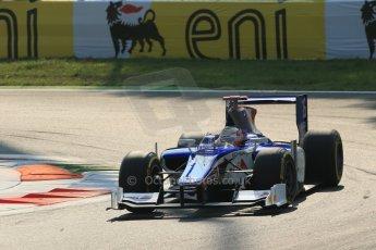 © 2012 Octane Photographic Ltd. Italian GP Monza - Friday 7th September 2012 - GP2 Qualifying - Trident Racing - Stephane Richelmi. Digital Ref : 0508lw1d0198