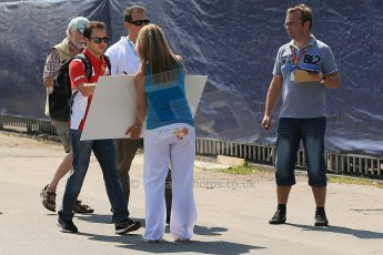 World © Octane Photographic Ltd. Formula 1 Italian GP, Press Conference 6th September 2012 - Felipe Massa - Ferrari. Digital Ref : 0494lw1d9015