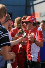 World © Octane Photographic Ltd. Formula 1 Italian GP, Press Conference 6th September 2012 - Fernando Alonso - Ferrari. Digital Ref : 0494lw1d9115