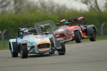 © Octane Photographic Ltd. Motors TV day – Donington Park,  Saturday 31st March 2012. Caterham Graduates - Mega and Classic classes. Digital ref : 0267cb1d9497