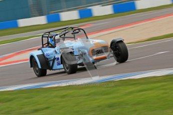 © Octane Photographic Ltd. Motors TV day – Donington Park,  Saturday 31st March 2012. Caterham Graduates - Mega and Classic classes. Digital ref : 0267cb7d6186